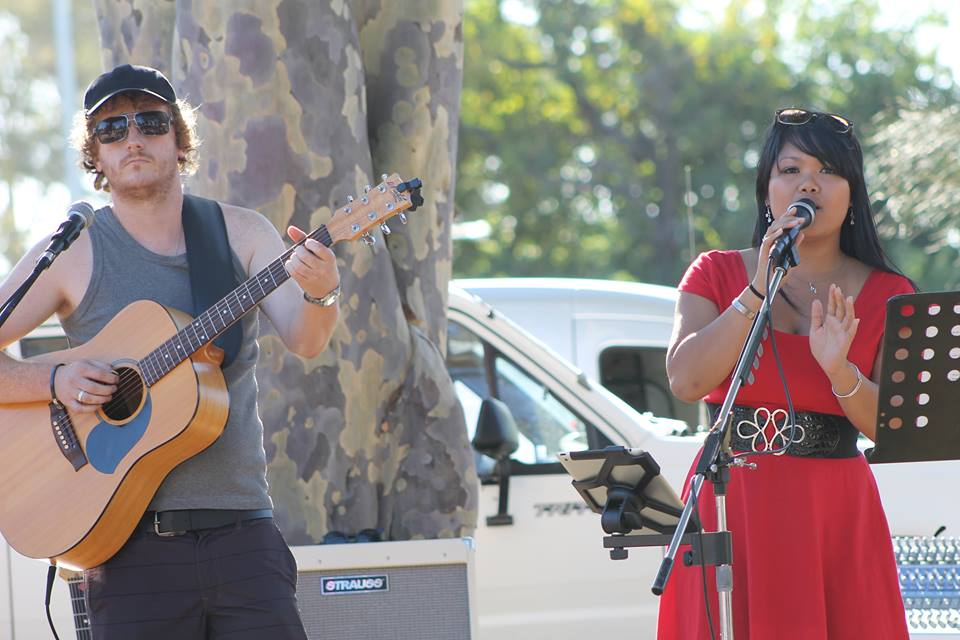 , music, activities, and a free sausage sizzle kept the crowd happy
